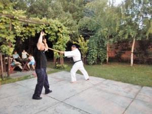 Trening sa štapom